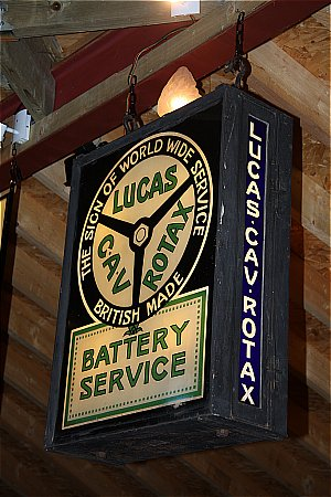 LUCAS C.A.V.ROTAX LIGHTBOX - click to enlarge