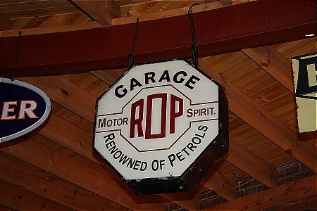 R.O.P. GARAGE (Octagonal) - click to enlarge