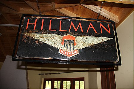 HILLMAN CARS - click to enlarge