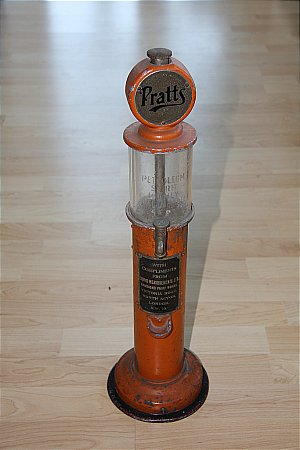 PRATT'S MINATURE LIGHTER FUEL PUMP - click to enlarge