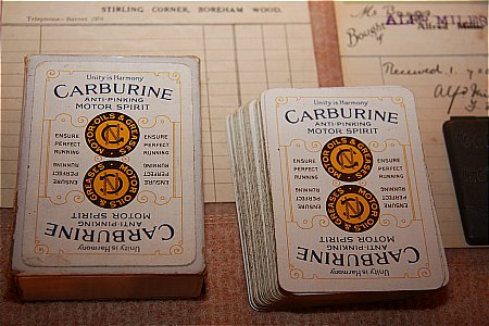 CARBURINE CARDS - click to enlarge