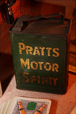 PRATT'S PEDAL CAR PETROL CAN - click to enlarge