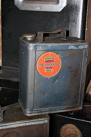 MORRISOL TWO GALLON CAN - click to enlarge