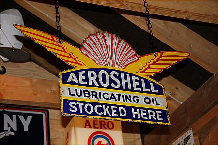AEROSHELL OIL - click to enlarge