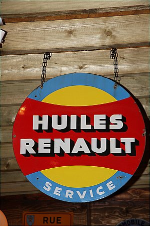 RENAULT OIL - click to enlarge