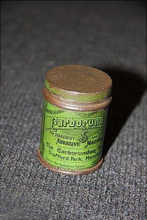 CARBORUNDUM PASTE - click to enlarge