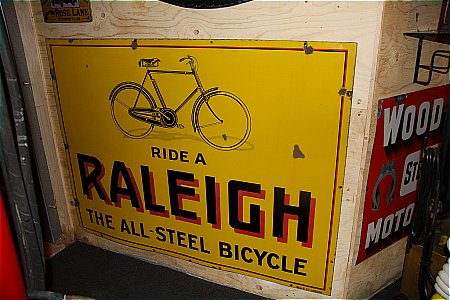 RALEIGH BICYCLES - click to enlarge