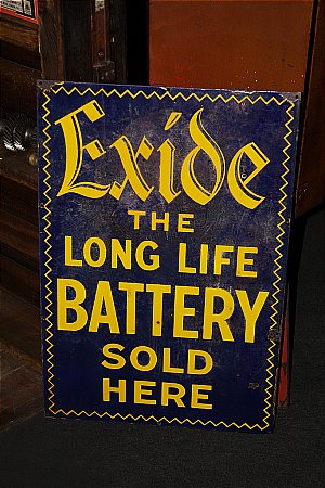 EXIDE BATTERY - click to enlarge
