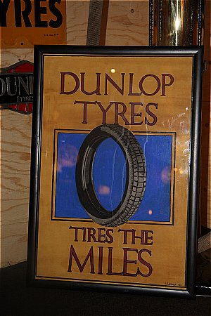 DUNLOP TYRES PAINTING. - click to enlarge