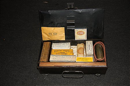 INTERIOR ROMAC FIRST AID KIT. - click to enlarge