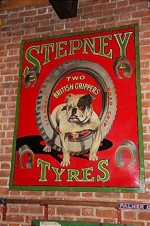STEPNEY TYRES (LARGE SIZE) - click to enlarge