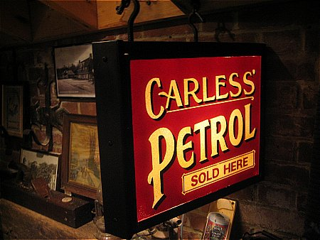 CARLESS PETROL - click to enlarge