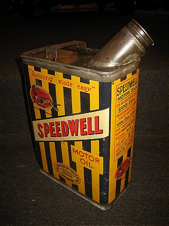 SPEEDWELL HALF GALLON CAN - click to enlarge