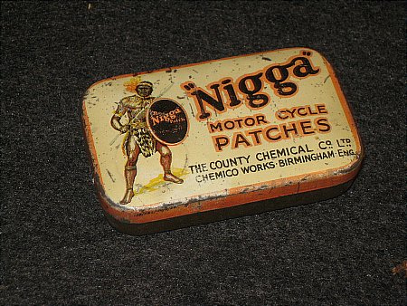 """""""NIGGA"""" PATCHES - click to enlarge"""