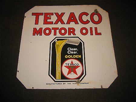 TEXACO MOTOR OIL - click to enlarge