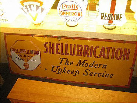 SHELLUBRICATION SERVICE SIGN - click to enlarge