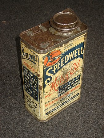 SPEEDWELL MOTOR OIL (Quart) - click to enlarge