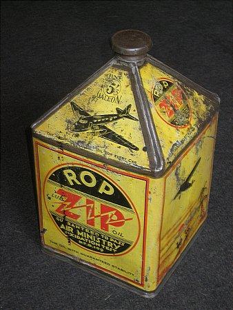 R.O.P. ZIP OIL (Gallon) - click to enlarge