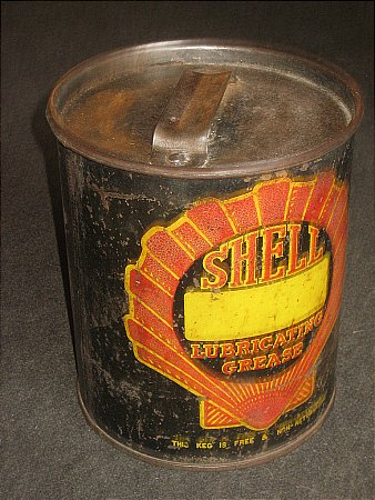 SHELL (Black) BULK GREASE - click to enlarge
