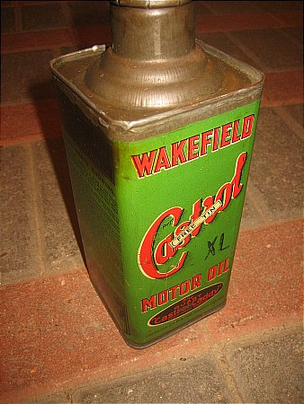 "CASTROL ""XL"" CADDY (Quart) - click to enlarge"