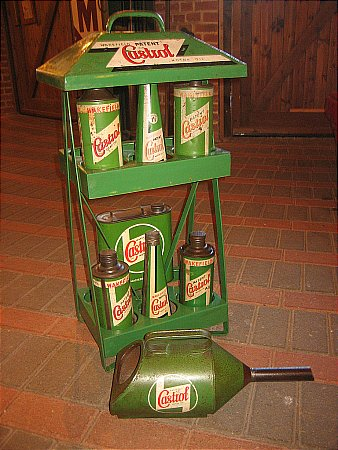 CASTROL FORECOURT DISPLAY UNIT. - click to enlarge