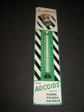 DUCKHAMS ADCOIDS THERMOMETER - click to enlarge