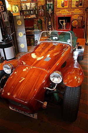 THE WOODEN CAR! - click to enlarge