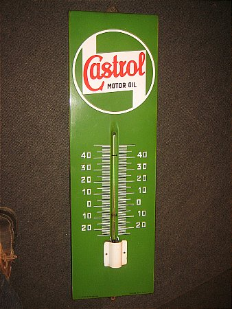 CASTROL THERMOMETER - click to enlarge