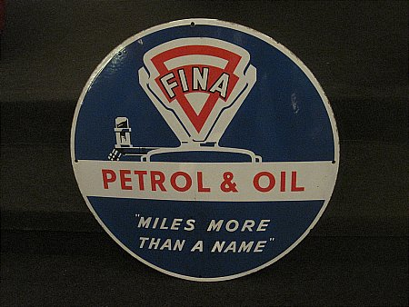 FINA PETROL & OIL - click to enlarge