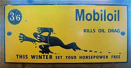 MOBIL OIL DOOR PLATE - click to enlarge