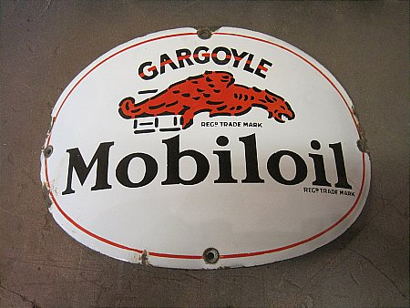 MOBIL CURVED PUMP PLATE - click to enlarge