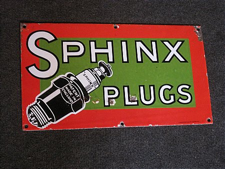 SPHINX PLUGS SIGN - click to enlarge