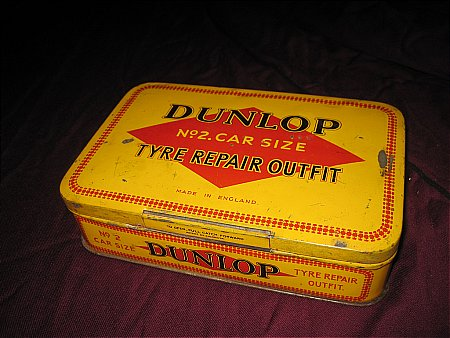 DUNLOP REPAIR OUTFIT - click to enlarge