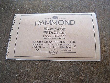 HAMMOND PUMPS BROCHURE - click to enlarge