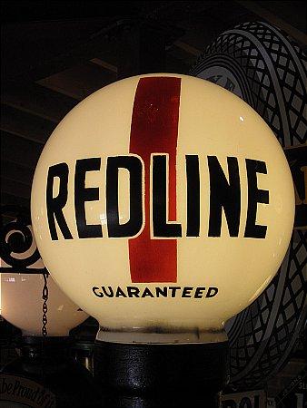 "REDLINE 16"" BALL GLOBE - click to enlarge"
