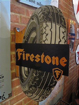 FIRESTONE TYRES (DIECUT) - click to enlarge