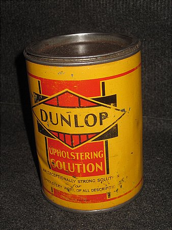 DUNLOP UPHOLSTERING SOLUTION. - click to enlarge