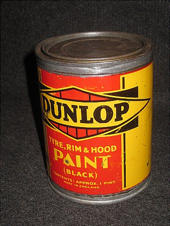 DUNLOP TYRE PAINT - click to enlarge