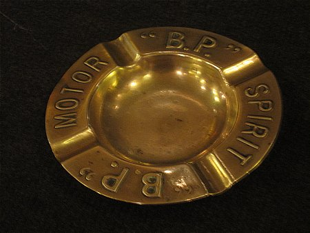 B.P. MOTOR SPIRIT ASHTRAY - click to enlarge