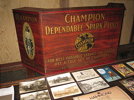CHAMPION SPARK PLUG CABINET - click to enlarge