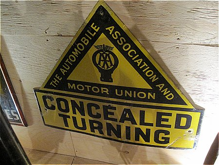 A.A. & MOTOR UNION CONCEALED TURNING - click to enlarge
