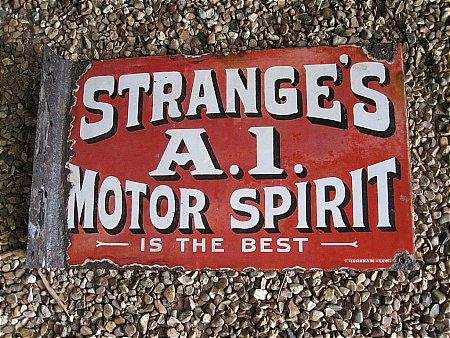 STRANGE'S A.1. MOTOR SPIRIT - click to enlarge