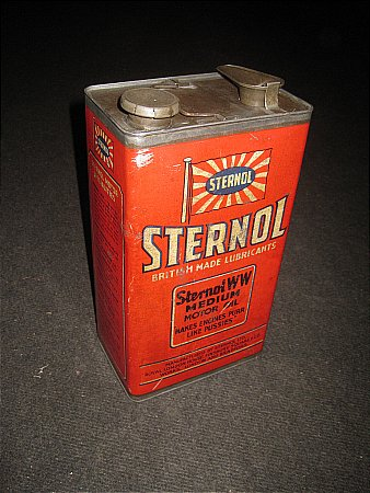 STERNOL GALLON CAN - click to enlarge