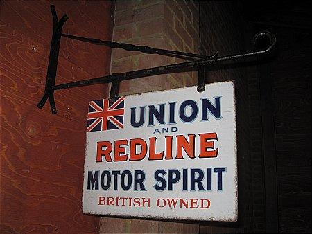 UNION & REDLINE MOTOR SPIRIT - click to enlarge