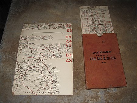 DUCKHAMS 1910 MAP SET - click to enlarge