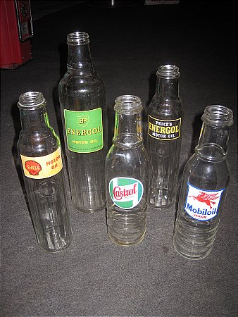 PINT OIL BOTTLES - click to enlarge