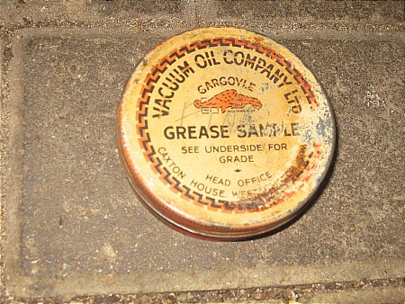 VACUUM OIL GREASE SAMPLE - click to enlarge