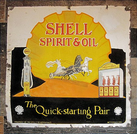 SHELL SPIRIT & OIL - click to enlarge