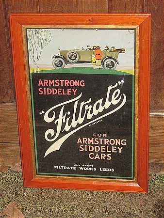 FILTRATE ARMSTRONG SIDLEY POSTER - click to enlarge