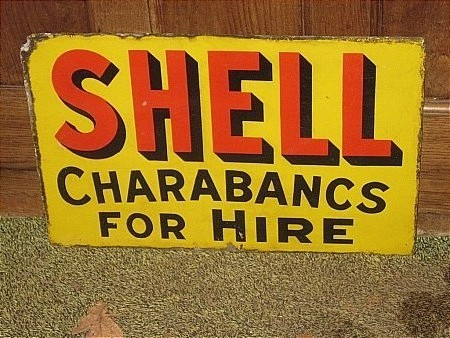 SHELL CHARABANCS FOR HIRE - click to enlarge